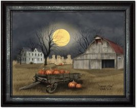 Billy Jacobs Harvest Moon Print by Billy Jacobs