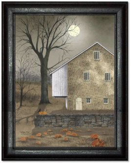 Billy Jacobs Autumn Moon Print by Billy Jacobs