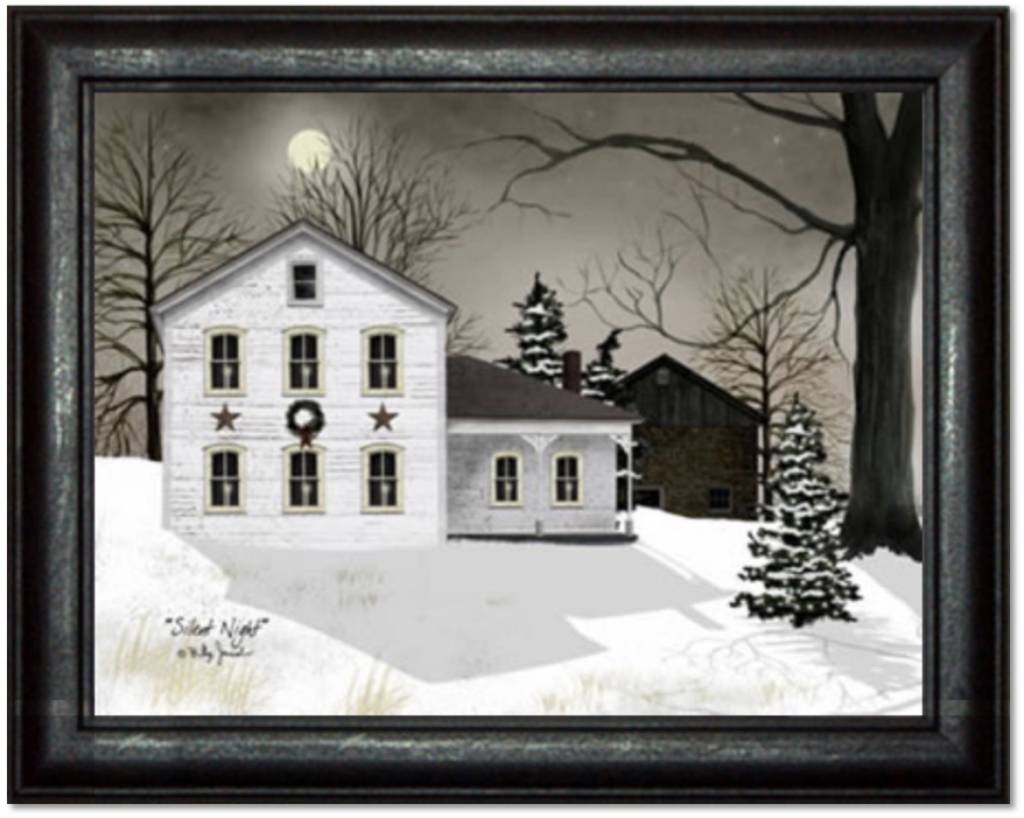 Billy Jacobs Silent Night Print by Billy Jacobs