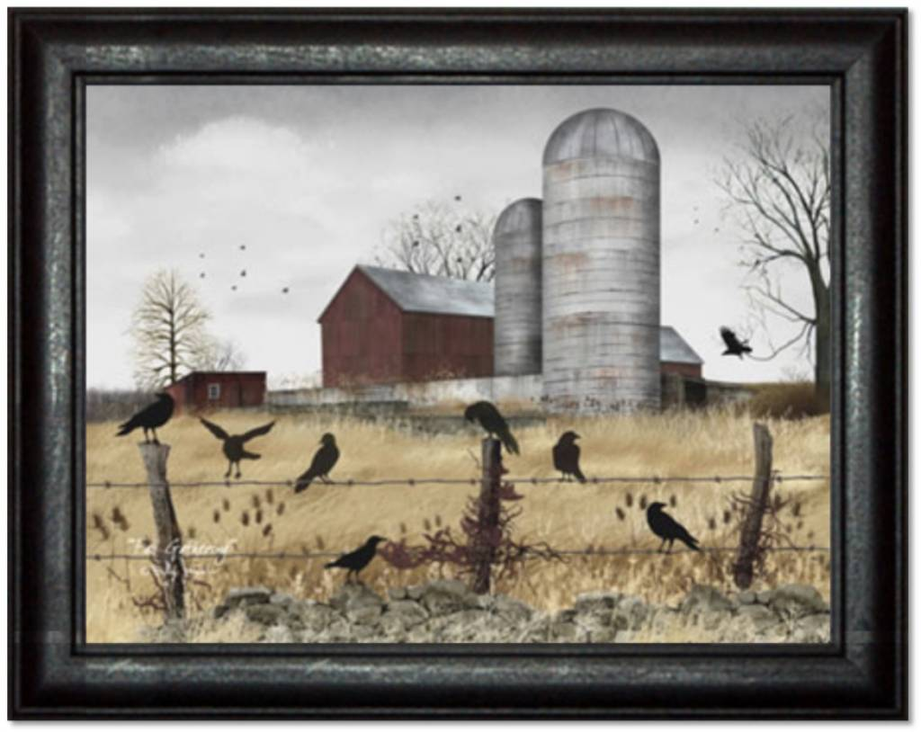 Billy Jacobs Fall Gathering Print by Billy Jacobs