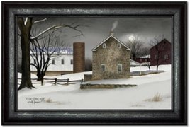 Billy Jacobs A Cold Winter's Night Print by Billy Jacobs