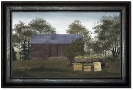 Billy Jacobs Produce Wagon Print by Billy Jacobs