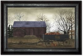 Billy Jacobs Pumpkin Wagon Print by Billy Jacobs
