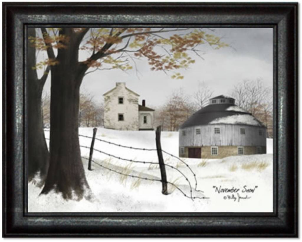 Billy Jacobs November Snow Print by Billy Jacobs