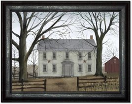 Billy Jacobs Early American Home Print by Billy Jacobs