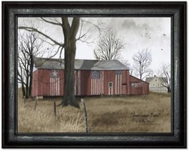 Billy Jacobs Americana Barn Print by Billy Jacobs