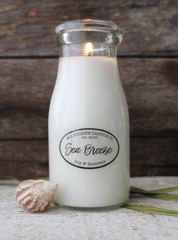 Milkhouse Candles Milkhouse Candle Sea Breeze 8oz Milk Bottle