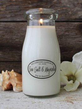 Milkhouse Candles Sea Salt & Magnolia 8oz Milkhouse