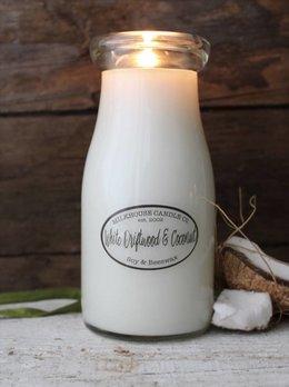 Milkhouse Candles White Driftwood Coconut 8oz Milkhouse