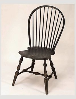 Lawrence Crouse Workshop Bow Back Side Chair