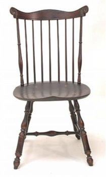 Lawrence Crouse Workshop Pennsylvania Fan Back Side Chair (Oval Seat)