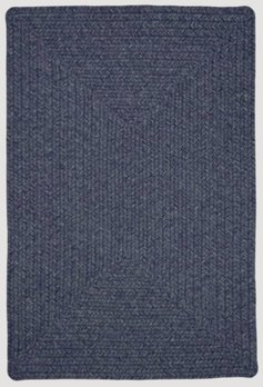 Azure Ultra Durable Braided Rugs