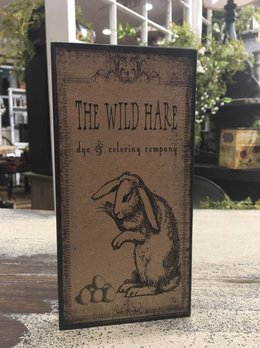 Wild Hare Block Sign