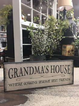 Nana's / Grandma's House Block Sign