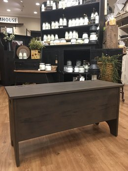 Amish Storage Bench