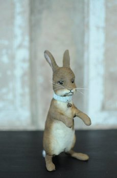 Brown Standing Rabbit