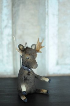 Moose Handmade Ornament