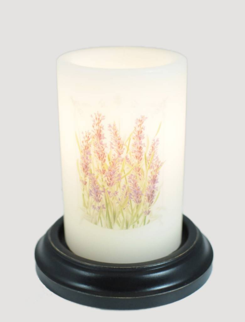 Candle Sleeve Lavender Fields Electric Candles Cr