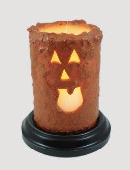 Jack O Lantern Candle Sleeve