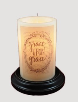 Library Grace Antique Vanilla Candle Sleeve
