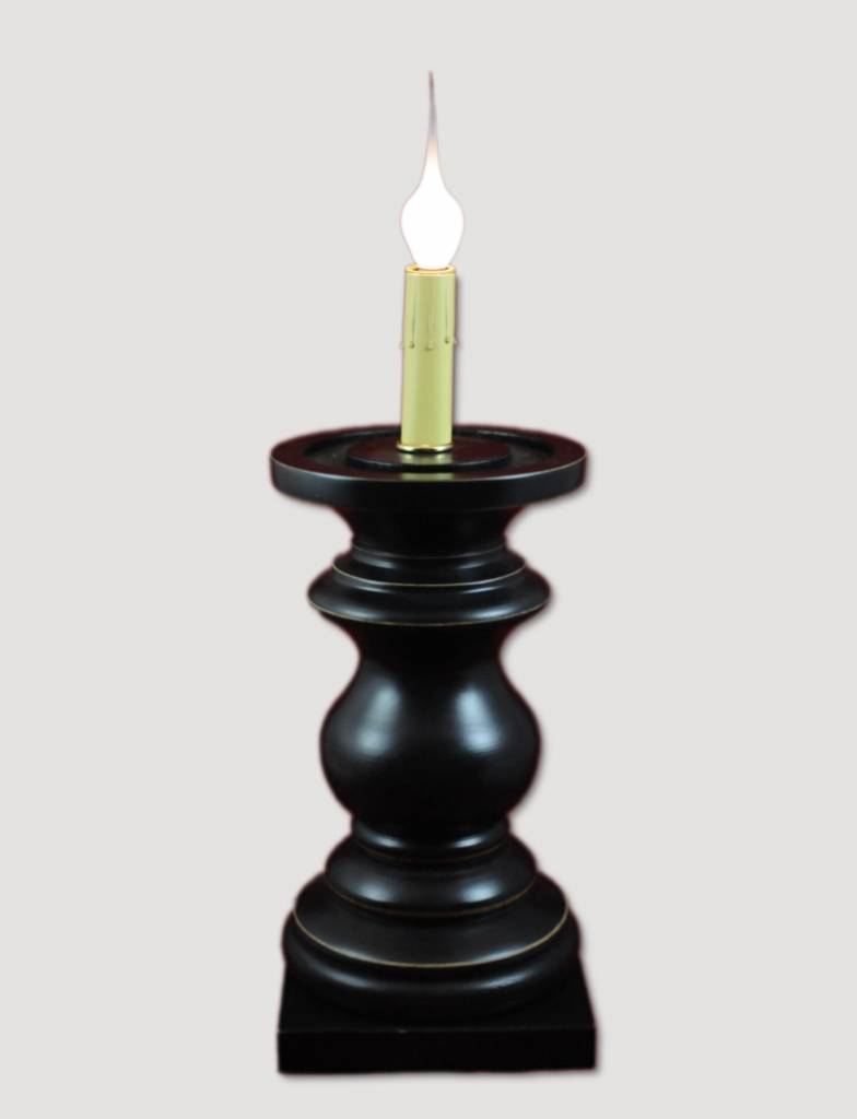 Antique Black Pedestal - Medium