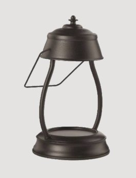 Hurricane Lamp Candle Warmer Black