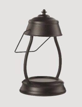 Hurricane Lamp Candle Warmer Black