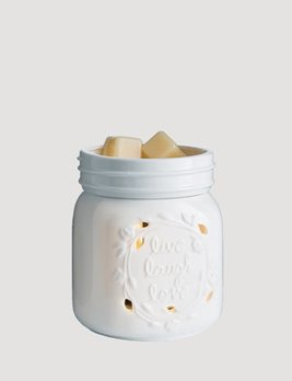 Flickering Warmer Mason Jar 2-in-1