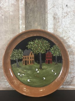 Penn Woods Pottery XL Round Platter