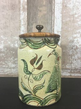Turtle Creek Pottery Canister Pot