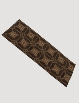 Smithfield Jacquard Table Runner Black