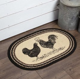 Sawyer Mill Poultry Jute Oval Rug
