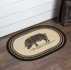 Sawyer Mill Pig Jute Rug