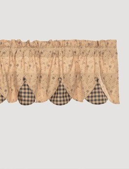 Maisie Lined Valance