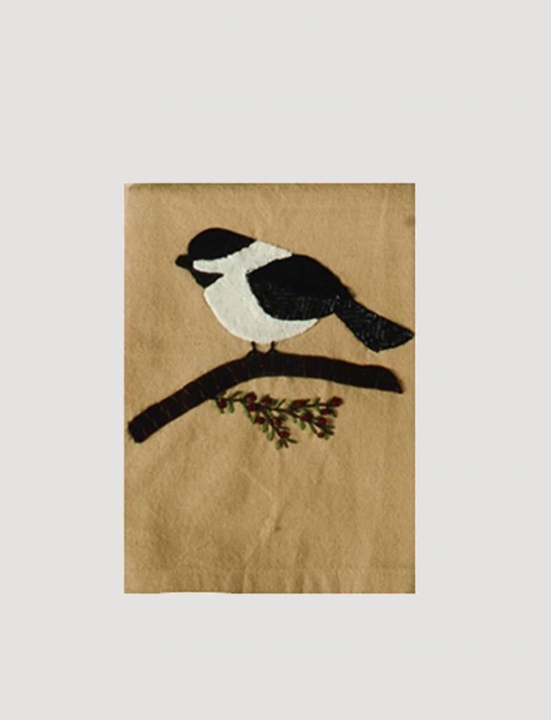 Home Collections By Raghu Chickadee Nutmeg Towel