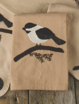 Home Collections By Raghu Chickadee Nutmeg Towel