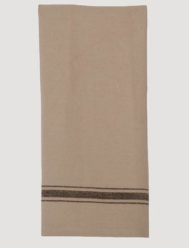 Home Collections By Raghu Grain Sack Stripe Towel Black