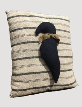 Handmade Crow Primitive Pillow