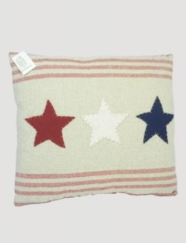 Americana Three Star Pillow