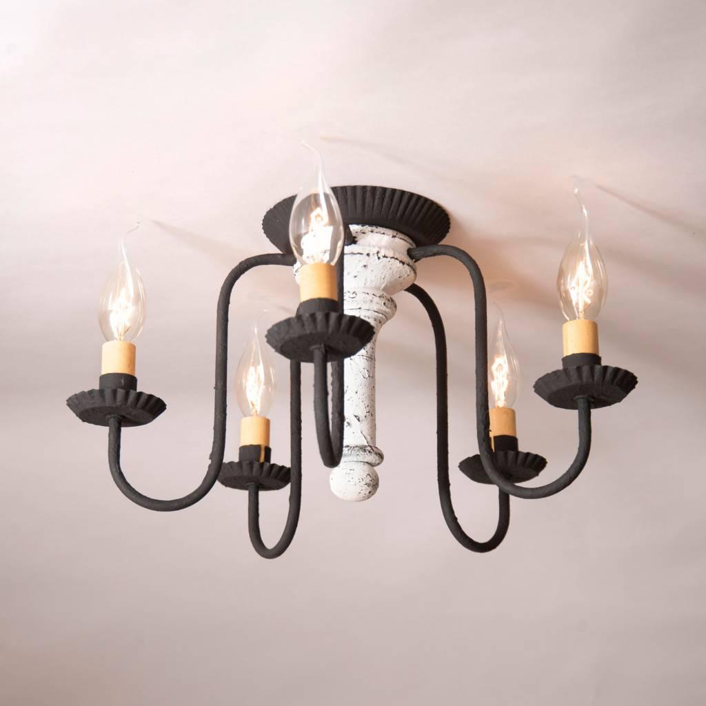 Irvin's Tinware Berkshire Ceiling Light in Americana
