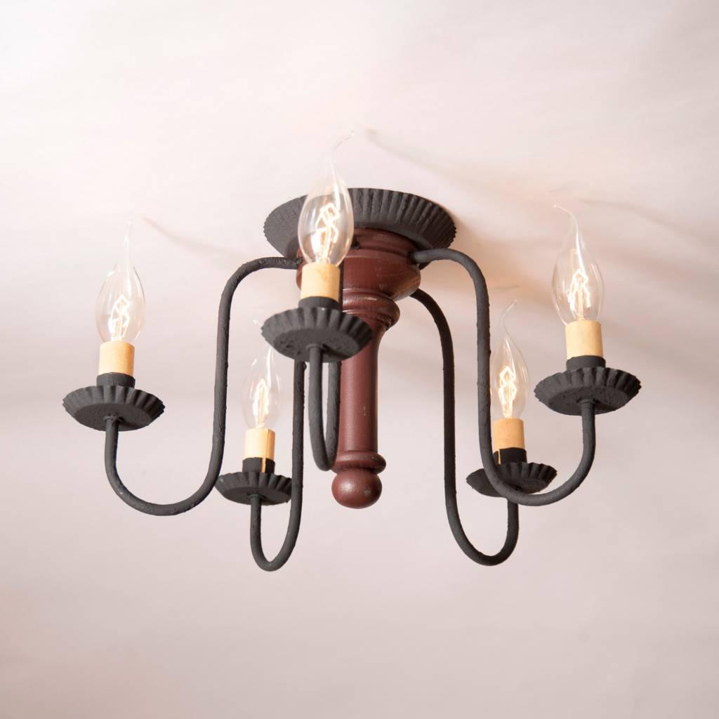 Irvin's Tinware Berkshire Ceiling Light in Sturbridge