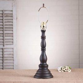 Irvin's Tinware Davenport Lamp Base in Americana