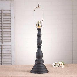 Irvin's Tinware Davenport Lamp Base in Hartford