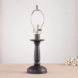 Irvin's Tinware Butcher's Lamp Base
