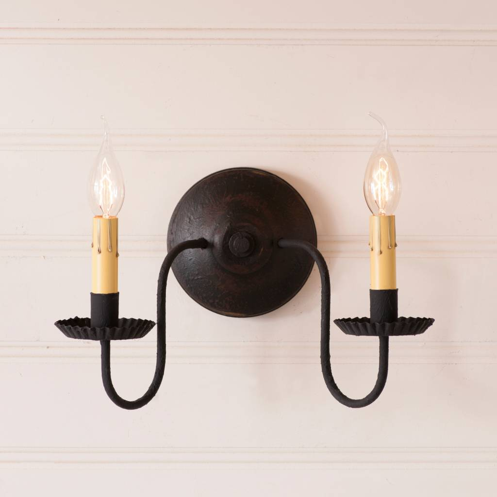 Irvin's Tinware Ashford Wall Sconce