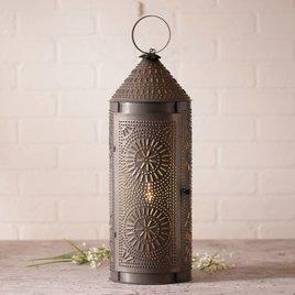Irvin's Tinware Chimney Lantern 22 Inch