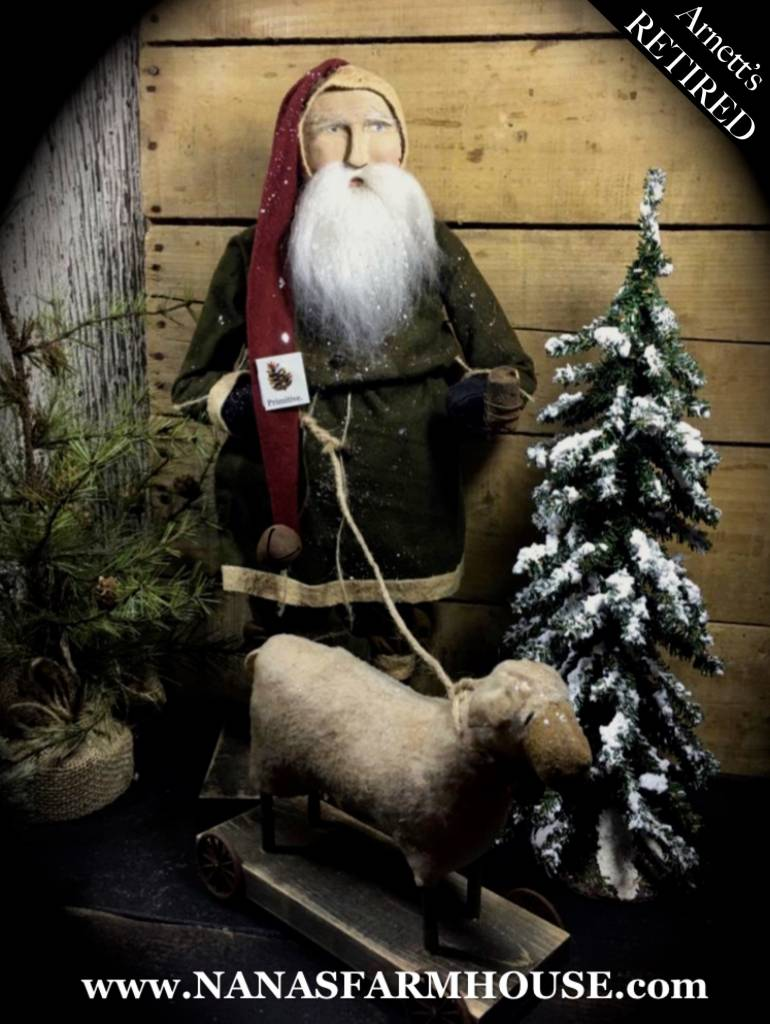 Arnett's Arnett's Santa with Sheep KC6