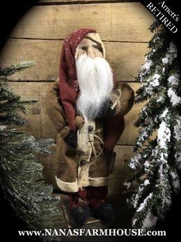 Arnett's Santa with Stocking JC21