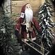 Arnett's Arnett's Small Slim Santa with Cart JC20