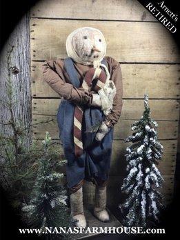 Arnett's Snow Girl with Candy Cane JSN21